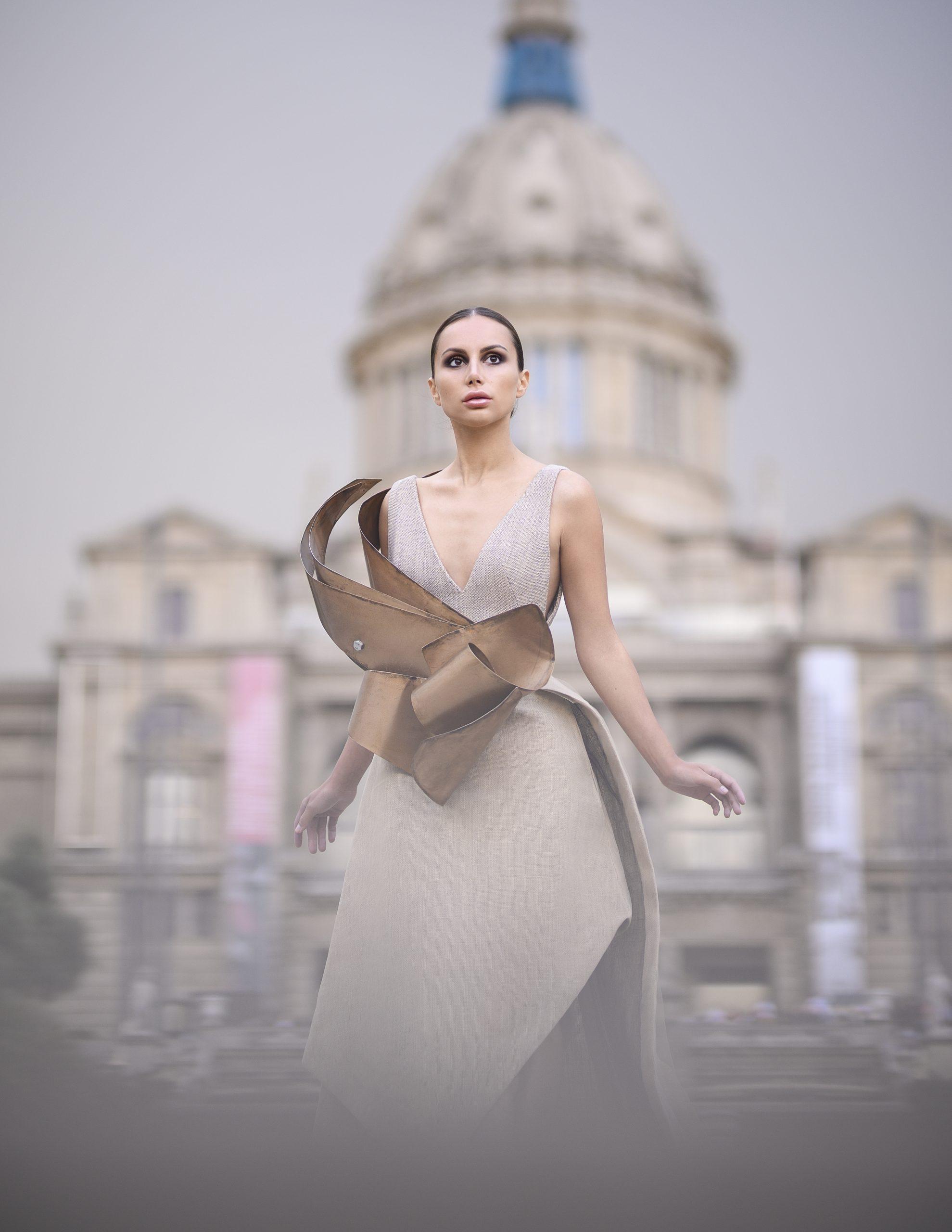 Dress by Anthony Sanchez